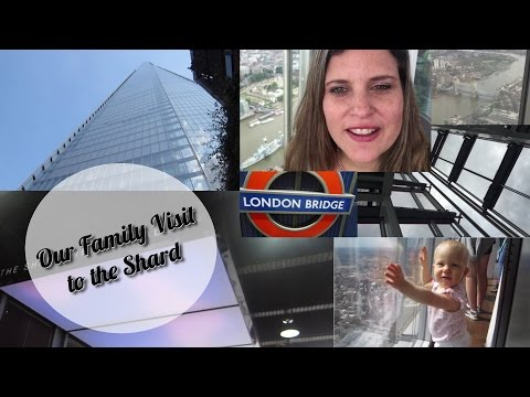 Family Visit to The Shard in London