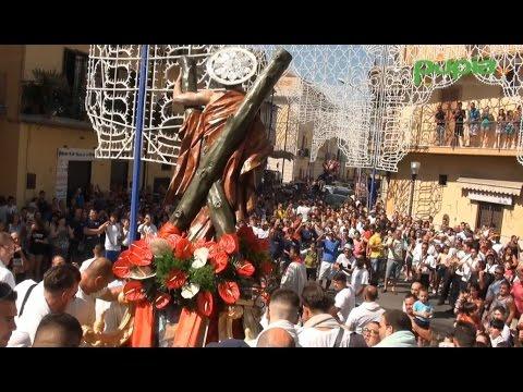 Gricignano (CE) - Festa Sant'Andrea, al via la processione (28.08.16)