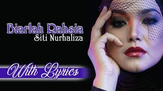 Siti Nurhaliza   Biarlah Rahsia   With Lyrics