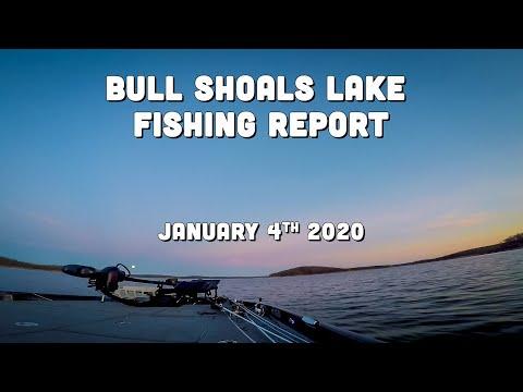 Bull Shoals Lake Fishing Report | Early January 2020 | Del Colvin
