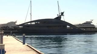 Palermo, mega yacht ormeggiato all'Arenella - www.gds.it