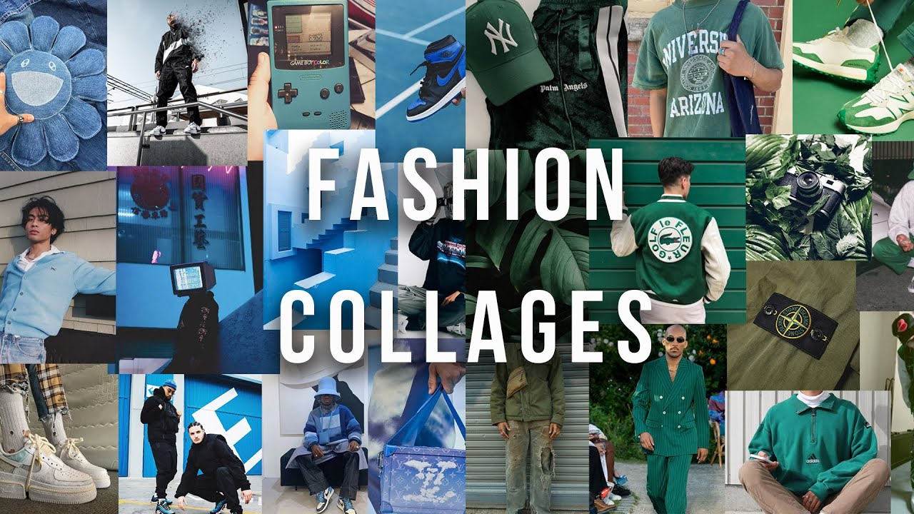 How To Make Fashion Collages - Adobe Photoshop
