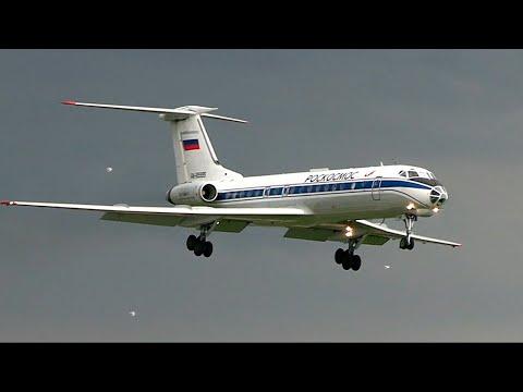 Ту-134 - Короткий рейс из Москвы в Москву / Аэропорт Внуково 2020