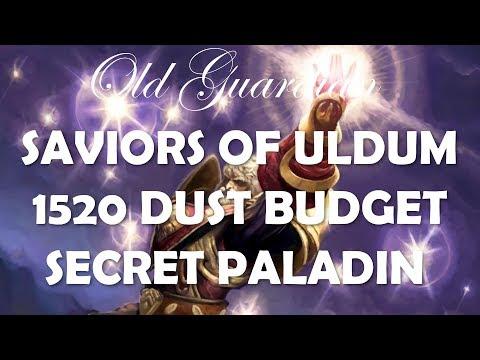 1520 Dust Budget Secret Paladin Deck Guide And Gameplay (Hearthstone Saviors Of Uldum)