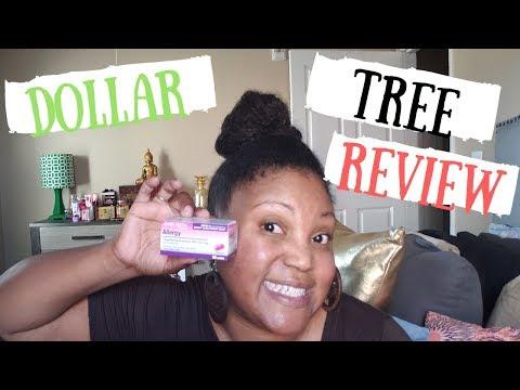 Dollar Tree Allergy Pills Review!!