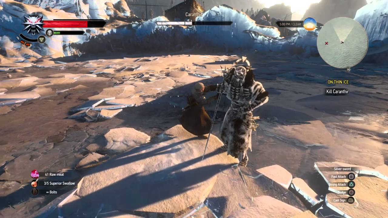 The witcher 3 wild hunt caranthir boss fight slightly - The witcher 3 caranthir ...
