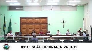Sessão da Câmara  24.04.19