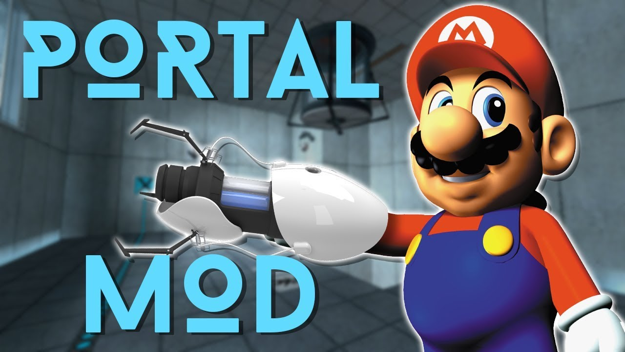 Modder Adds Portal Gun To Super Mario 64