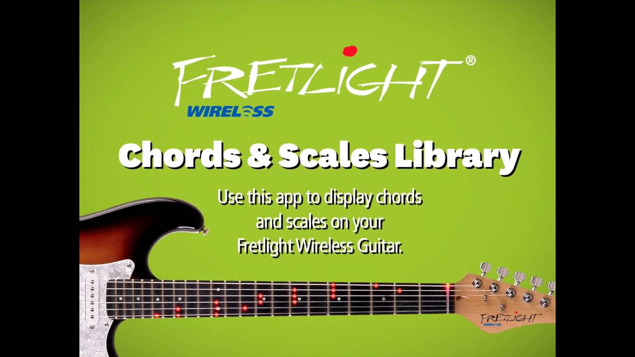 How To Use The Fretlight Chords Scales App Ios Wireless Fg 600