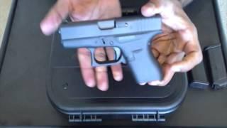 Glock 42 Unboxing. 380 acp