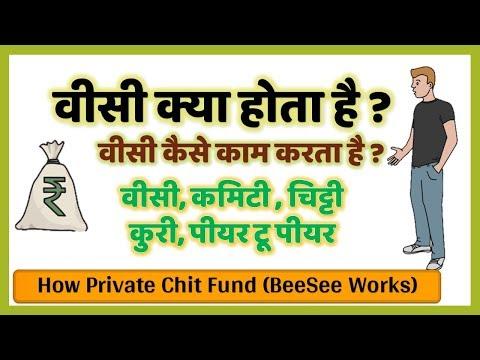 वीसी क्या होता है BeeSee Committee  Kuri  Peer to Peer Lending   How Private Chit Fund BeeSee Works