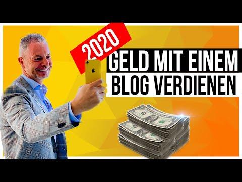 Geld machen mit einem Blog (2020)