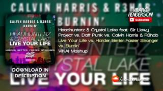 Headhunterz vs. Calvin Harris - Burnin
