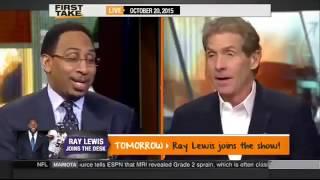 ESPN First Take debate Gennady GGG Golovkin vs Floyd Mayweather