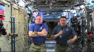 Space Station Crew Members Discuss Life in Space with Ohio Students