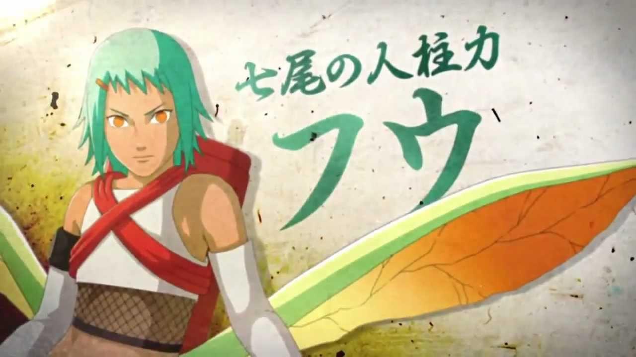 Seven Tails Jinchuriki Fu Gameplay Naruto Shippuden Ultimate Ninja