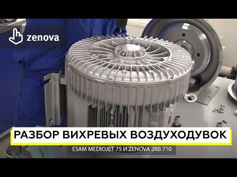 Разбор и сравнение вихревых воздуходувок GreenTech и Esam