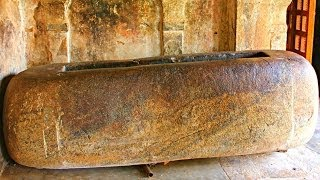 Tamil King Raja Raja Chola's Bathtub Discovered - Thanjavur, India