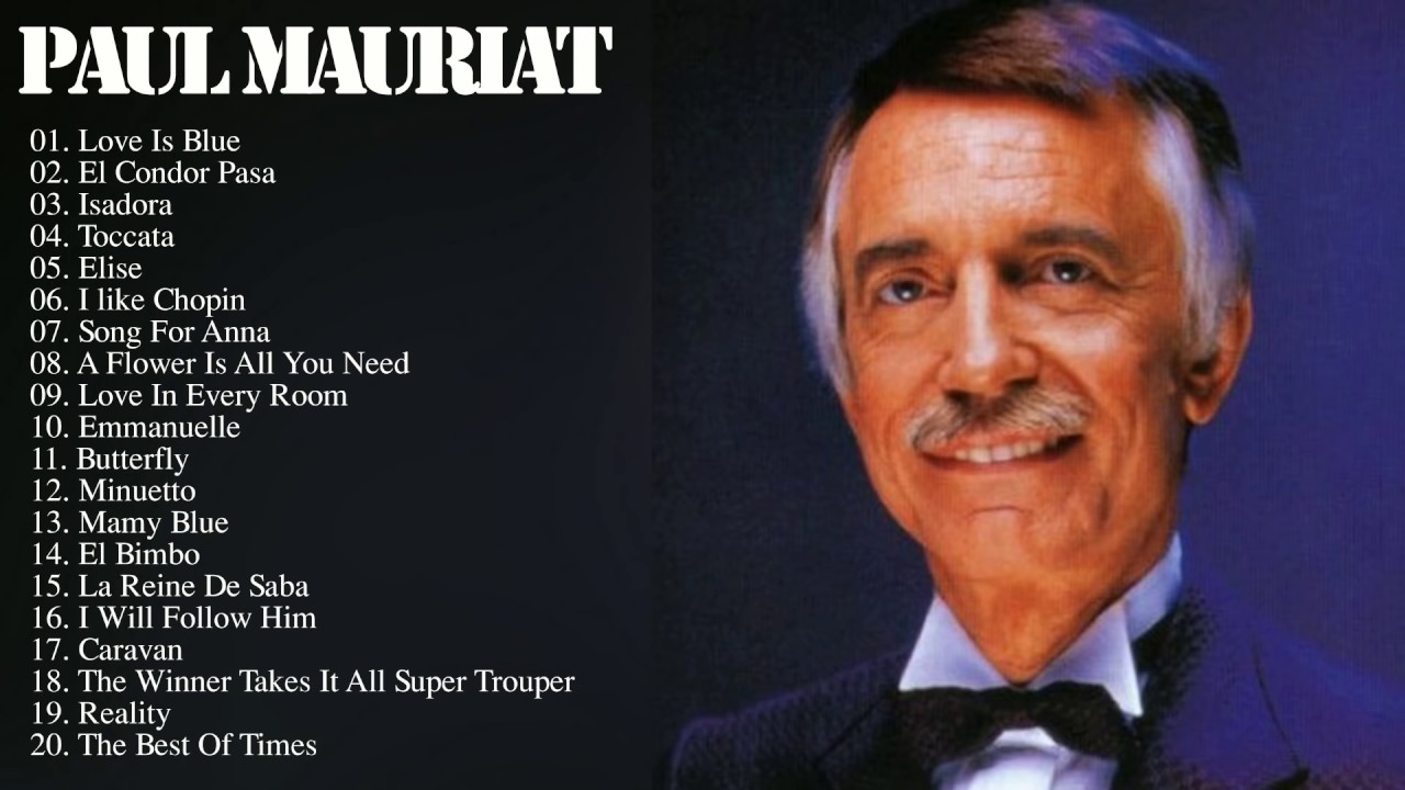 Paul Mauriat Paul Mauriat Greatest Hits Instrumental Youtube