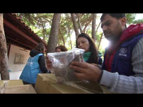 Rolling Out Winter Aid in Greece