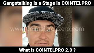 Gangstalking is Actually COINTELPRO 2.0  // Introduction to COINTLEPRO 2.0
