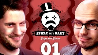 Spiele mit Bart mit Simon & Gregor #001 | Project Scissors: NightCry