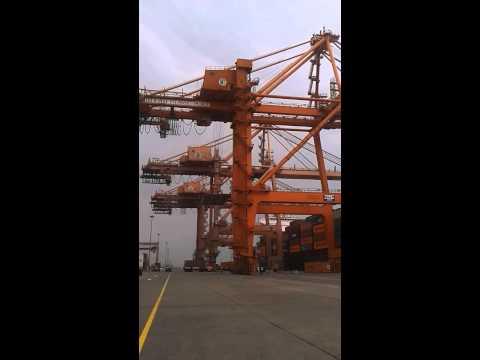 DP World - Jeddah Islamic Port  ميناء جده . محطة الحاويات الجنوبية. شركة موانئ دبي