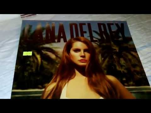 Lana Del Rey - Born To Die - The Paradise Edition (unboxing Vinyl)