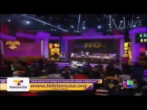 """Daddy Yankee """" La Nueva y la Ex """" Teleton USA"""