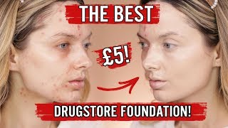 THE BEST DRUGSTORE FOUNDATION EVER?! OMG! // MyPaleSkin