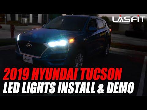 2019 2020 Hyundai Tucson | How to install LED headlight bulbs turn signals reverse light…