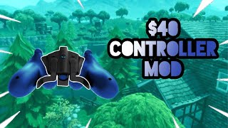 Playing FORTNITE With The Collective Minds Strike Pack F.P.S. Dominator Controller Adapter!