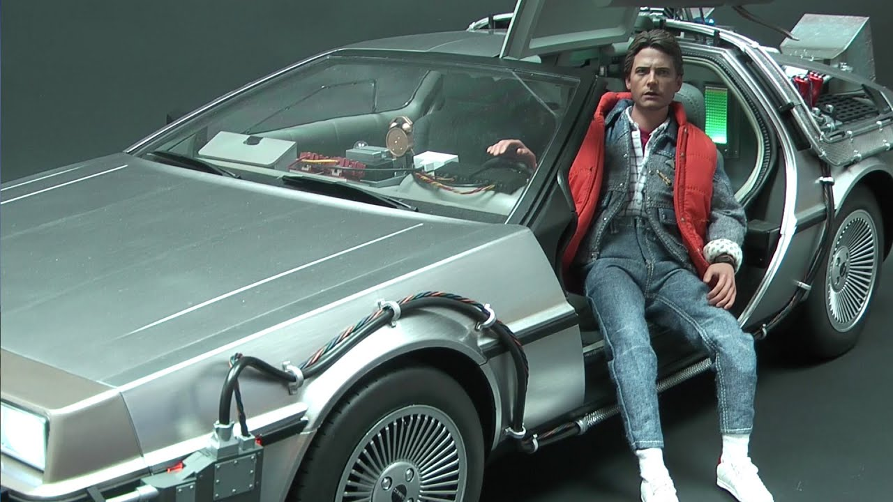 Hot Toys Back To The Future Delorean Time Machine 16 Car -4164