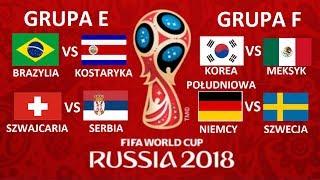 TURNIEJ PANINI WORLD CUP RUSSIA 2018 #7 - BRAZYLIA VS KOSTARYKA / NIEMCY VS SZWECJA