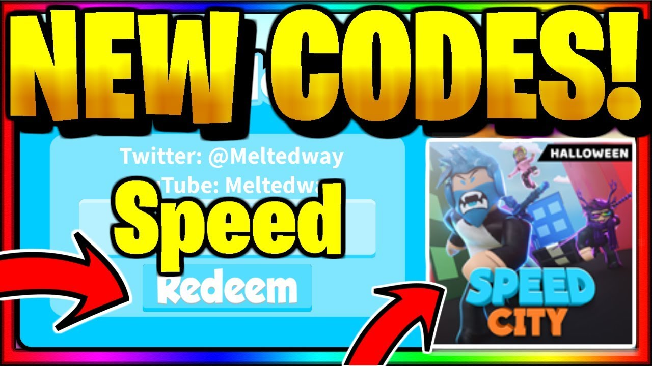 Speed City Codes Roblox July 2020 Mejoress