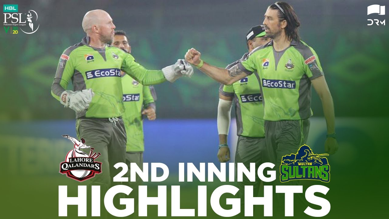 Download Lahore Qalandars vs Multan Sultans   2nd Inning Highlights   HBL PSL 2020    MB2E