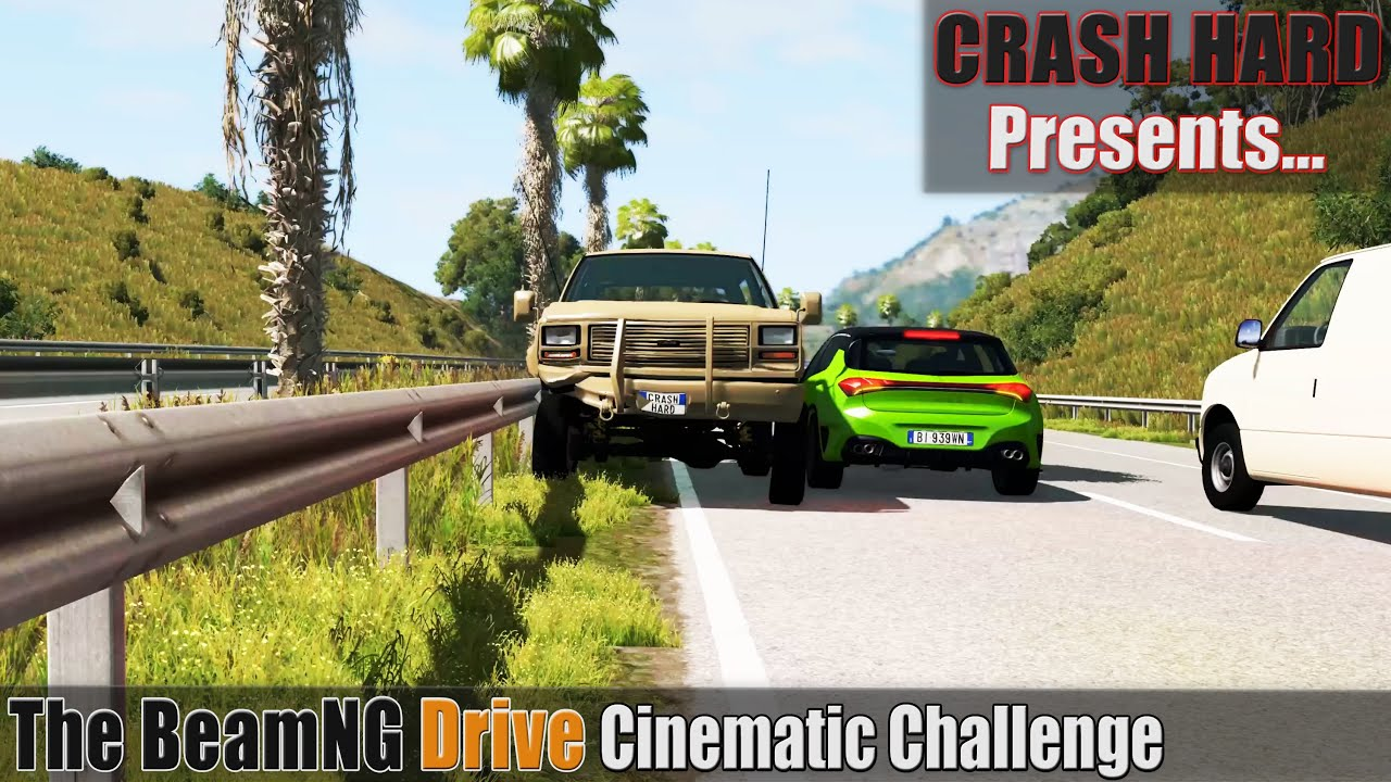 The BeamNG Drive Cinematic Challenge