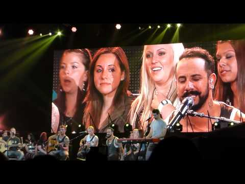 Safest Place To Hide - Backstreet Boys - Acoustic set - May 8, 2014-In A World Like This Tour!