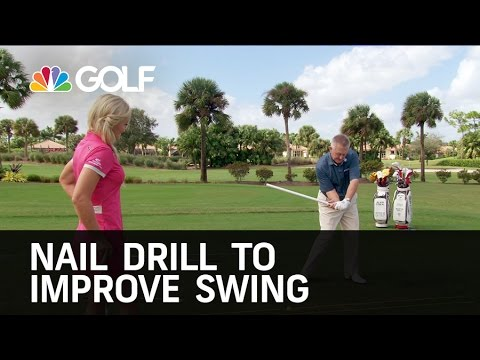 Nail Drill to Improve Your Swing | Golf Channel