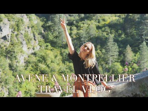 Exploring Avene and Montpellier | Travel Vlog