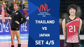 SET4 : THAILAND VS JAPAN | Volleyball Nations League 2018
