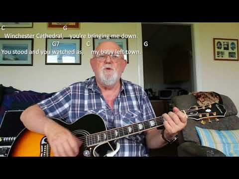 Guitar: Winchester Cathedral (Including lyrics and chords)