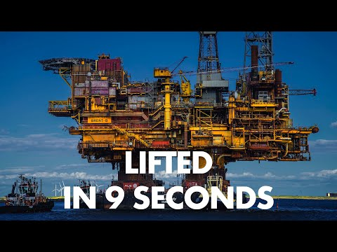 'There We Go' – Lifting 25,000 tonnes in 9 seconds | Brent Bravo Lift