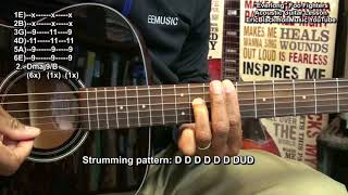 EVERLONG Foo Fighters Acoustic Guitar Lesson EEMusicLIVE