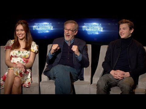 READY PLAYER ONE interviews - Spielberg, Cline, Sheridan, Cooke, Lena Waithe, Mendelsohn Mp3
