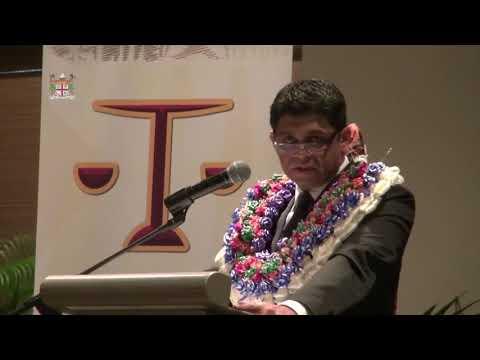 Attorney-General, Hon. Aiyaz Sayed-Khaiyum opens Fiji Law Society Annual Convention