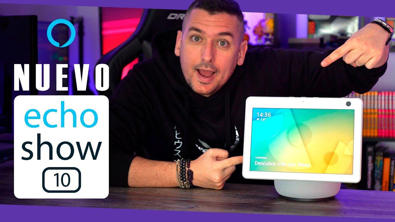 Esto es lo que puedes hacer con el nuevo Amazon Echo Show 10!!