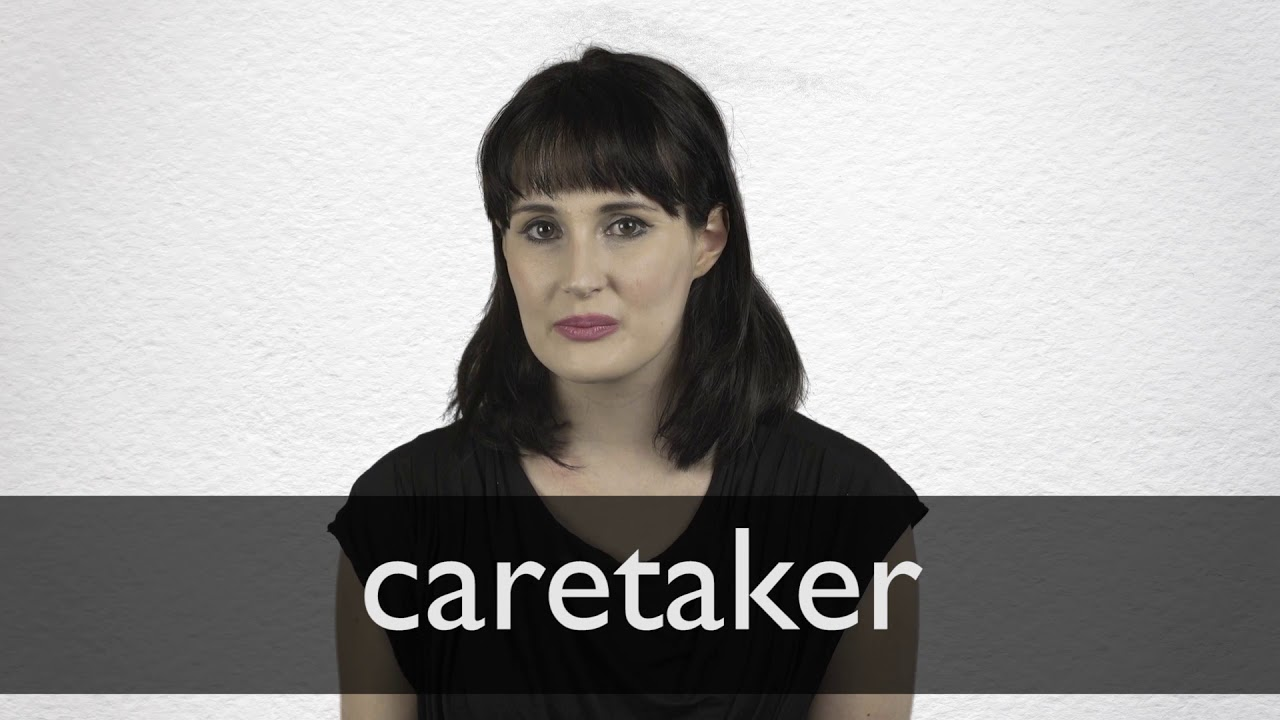Caretaker definition and meaning | Collins English Dictionary
