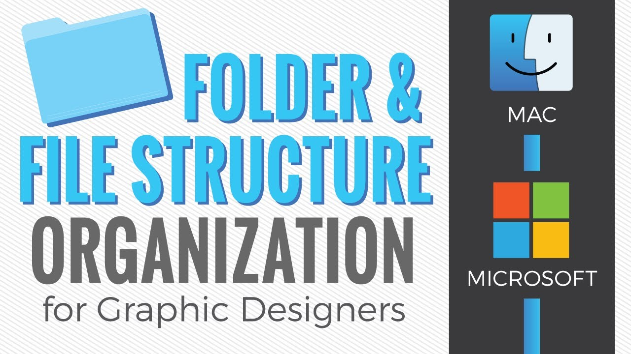 Graphic Design Folder Structure And File Naming Organization Youtube