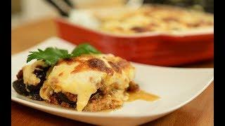 Beşemel Soslu Patlıcan Musakka - Semen Öner - Yemek Tarifleri